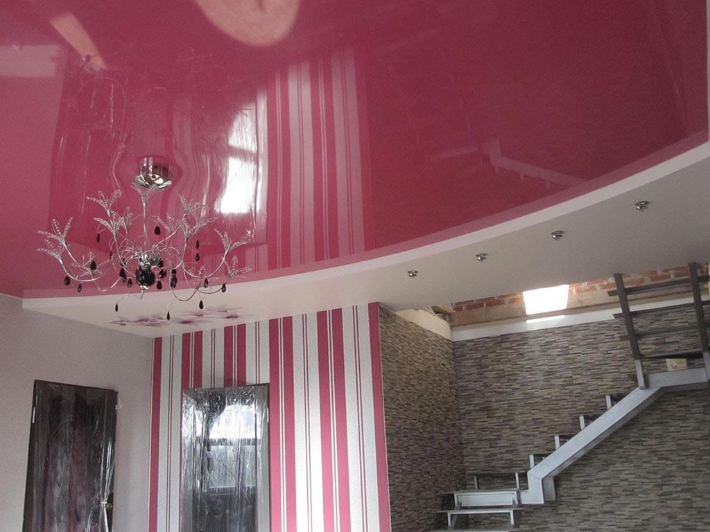 Двухуровневые натяжные потолки по привлекательной цене. Подарите неповторимый стиль вашему интерьеру.