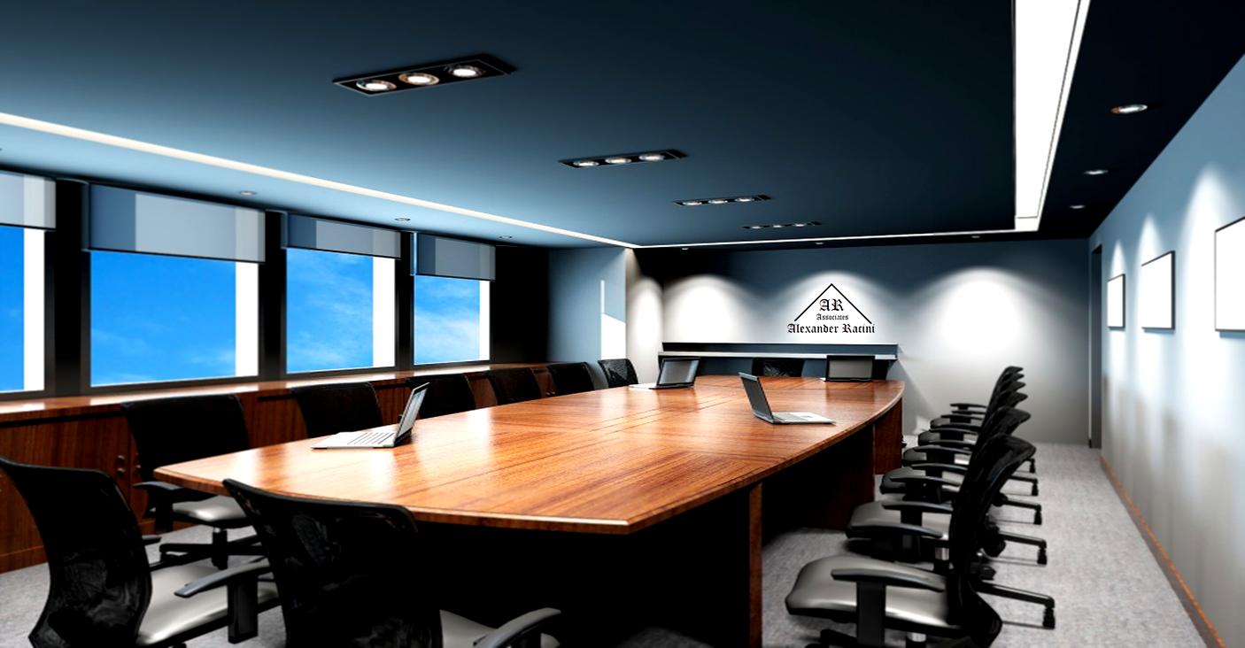Натяжные потолки для офиса