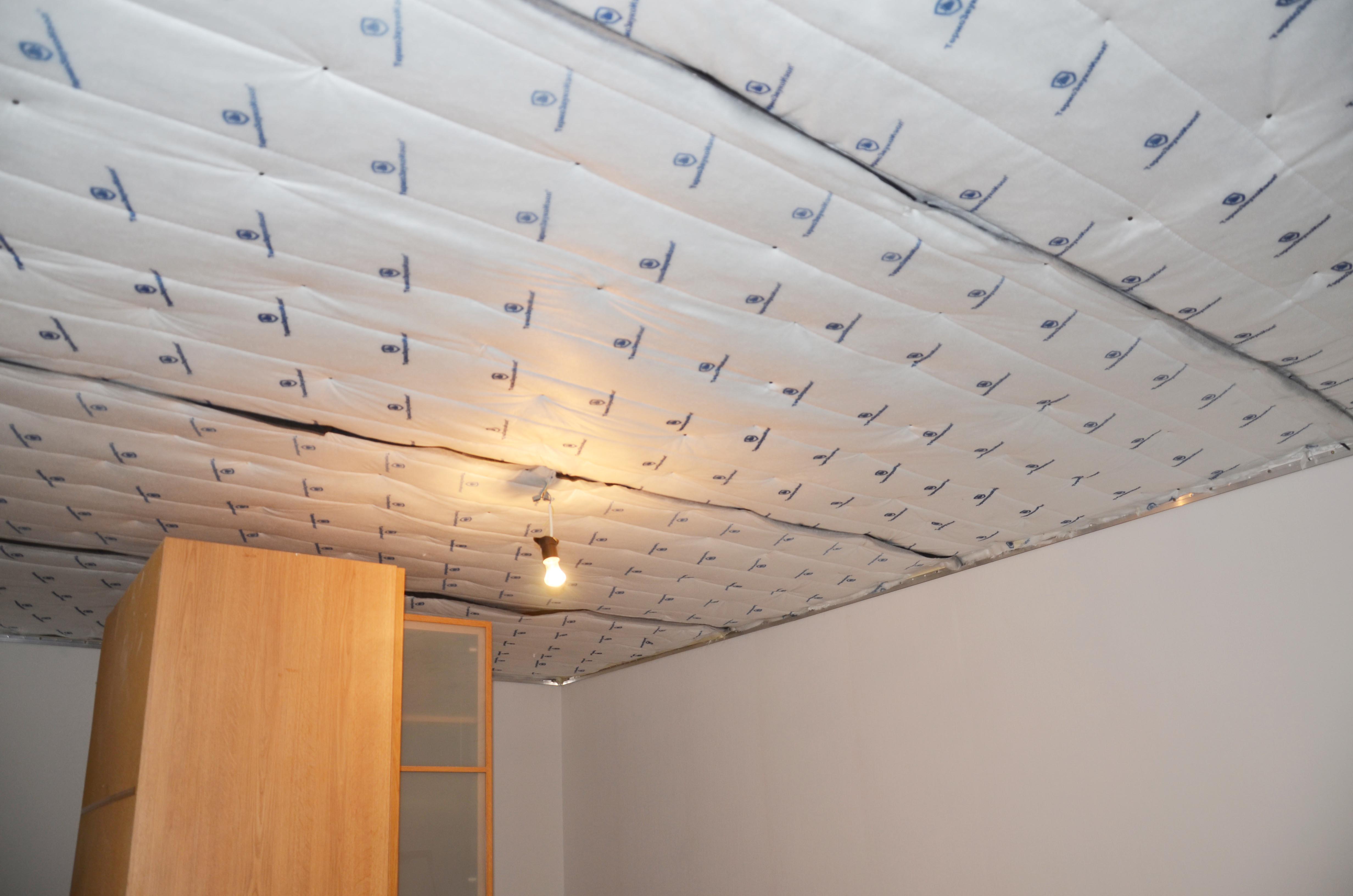 Шумоизоляции потолка в квартире своими руками: методы и 81