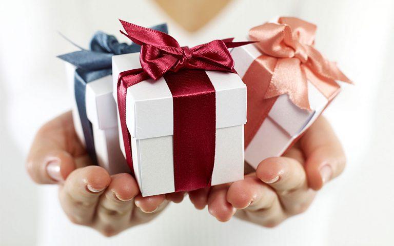 Подарки выигрываем и получаем 144