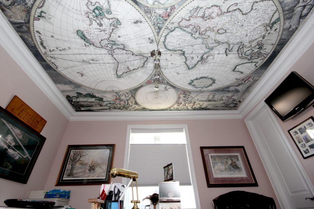 художественные потолки